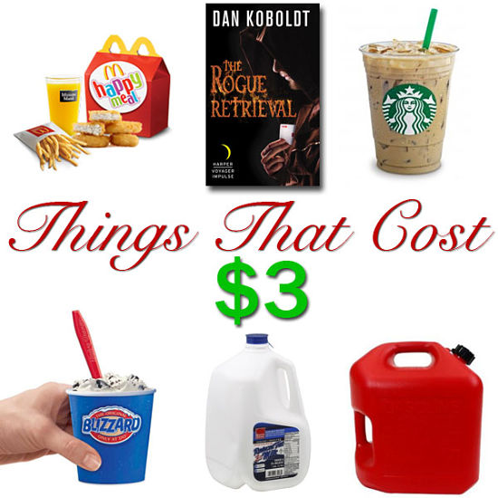 Things that cost $3