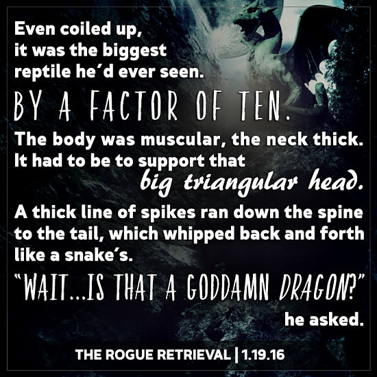 Rogue retrieval teaser dragon