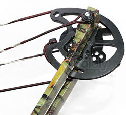 Compound bow let-off