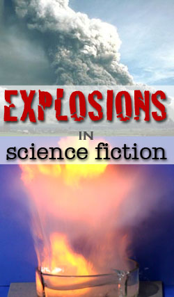 explosions in science fiction