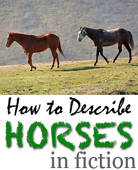 describe horses in fiction