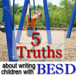 writing children with besd
