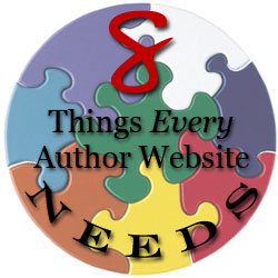 8 author website needs