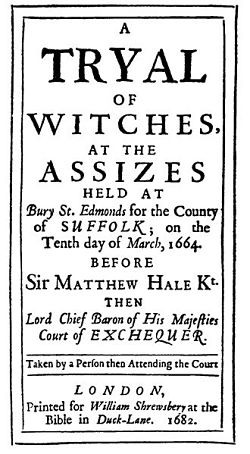 Witch Trial announcement