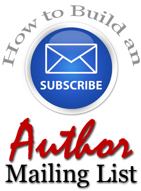how to build an author mailing list