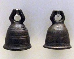 Copper ritual bells