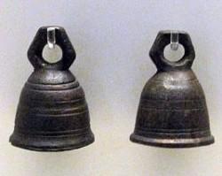 Copper ritual bells
