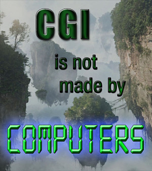 CGI not made by computers