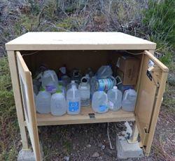 desert water cache