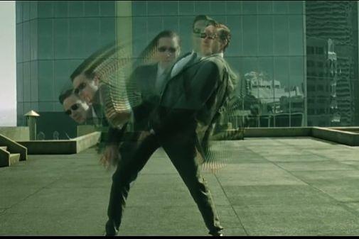 The Matrix Dodge This