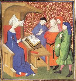 Christine de Pisan female profession