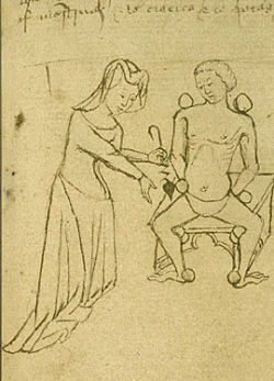female doctor middle ages