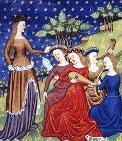 medieval women of status