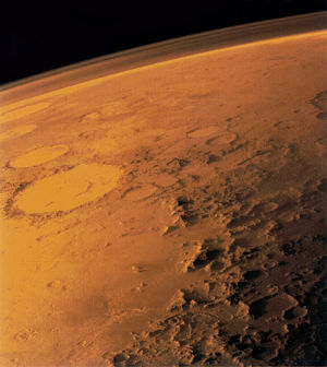Thin Mars Atmosphere