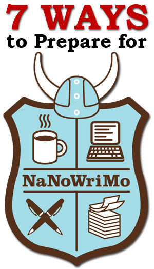 7 ways to prepare for Nanowrimo