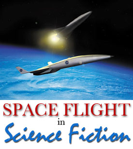 Space flight in science fiction