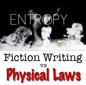 fiction writing vs physical laws