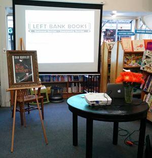 author signing setup