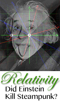 Relativity Einstein Steampunk