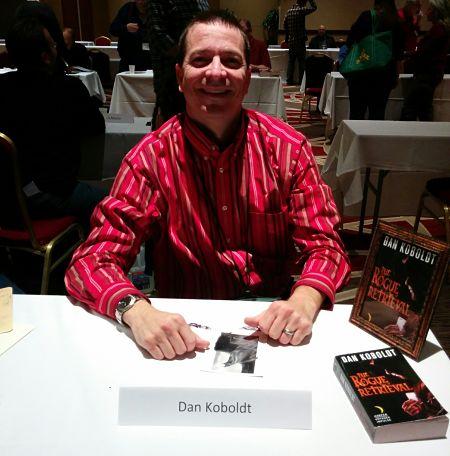 dan koboldt book signing