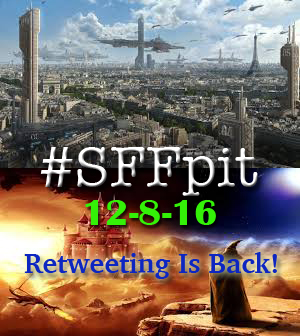 #SFFchat with Harper Voyager Authors and #SFFpit
