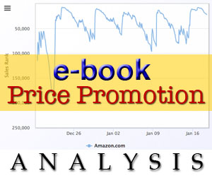 e-book price promotion analysis