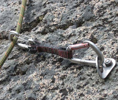 Rock climbing bolt