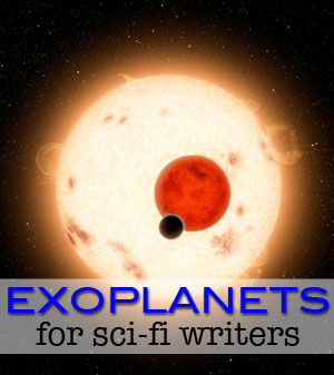 Exoplanets for sci-fi writers