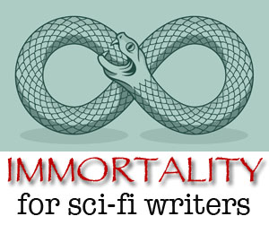 immortality for sci-fi writers