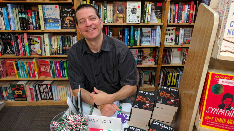 indie bookstore signing