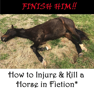 injure kill horse fiction
