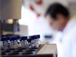 biomedical researcher writing