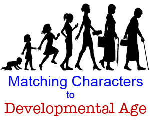 Characters with Developmental Differences