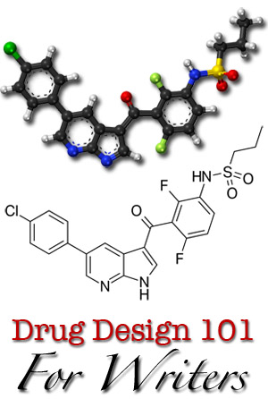 Drug design for writers