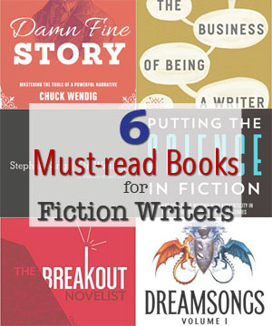 6 must-read books for fiction writers