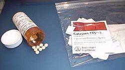 Clonidine pills