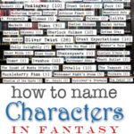 How to Name Characters in Fantasy