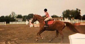 Jumping horse class