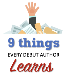 things every debut author learns